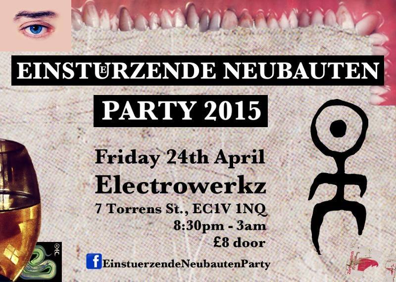 Mechanical Cabaret live at Einsturzende Neubauten party 2015